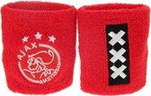 Ajax Zweetband Pols Rood 2 Stuks
