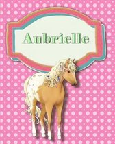 Handwriting and Illustration Story Paper 120 Pages Aubrielle