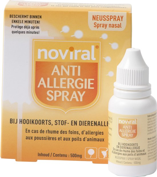 Noviral Anti-allergie spray - 500mg - 1 stuk