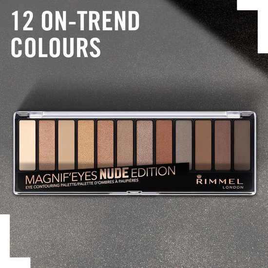 Rimmel Magnifeyes Eye Contouring Palette, 001 Nude