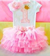 Cakesmash outfit / first birthday outfit / eerste verjaardag / een jaar / babykleding / cadeau 1 jaar - 1 jaar
