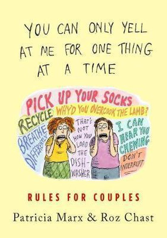 Boek cover You Can Only Yell at Me for One Thing at a Time van Patricia Marx (Hardcover)