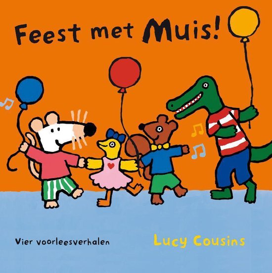 Muis - Feest met Muis - Lucy Cousins   Fthsonline.com