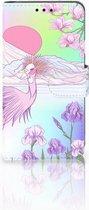 Smartphone Hoesje LG X Style Uniek  Bookcase Hoesje Bird