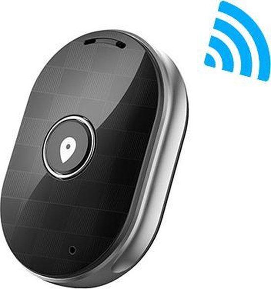Eyzo GPS Tracker Zwart | Volgsysteem ideaal voor uw Hond, Kat, Kind, Auto, Motor, Baggage | Eigenschappen: Sterk Ontvangst, Waterdicht, Alarmfunctie, App, Gratis Accessoires, Playback Functie.