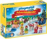 PLAYMOBIL Adventskalender Kerst op de boerderij - 9009