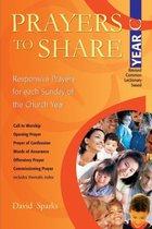 Prayers to Share - Year C
