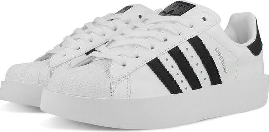 adidas SUPERSTAR BOLD W BA7666 - schoenen-sneakers - Vrouwen - wit/zwart -  maat 38