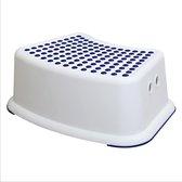wc kinderhulp - toilet trainer - eerste opstapje - krukje voor kinderen- wc krukje - keukenkruk - kinderstoel - baby trapje - extra veilig opstapje - antislip krukje - veilig krukje- tuinkrukje - badkamer kruk - blauw wit