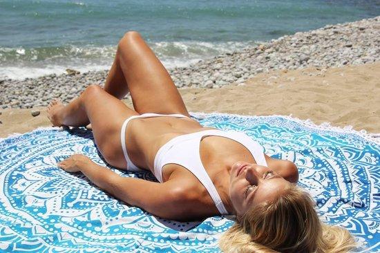 Myroundie - roundie - rond strandlaken - 100% katoen – 37