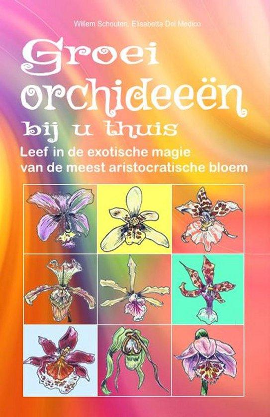 Groei orchideeën bij u thuis - Willem Schouten |