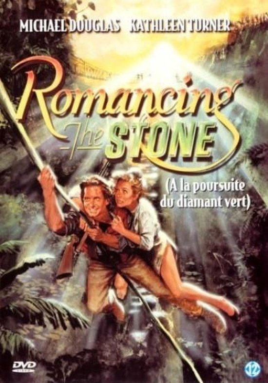 Cover van de film 'Romancing The Stone'