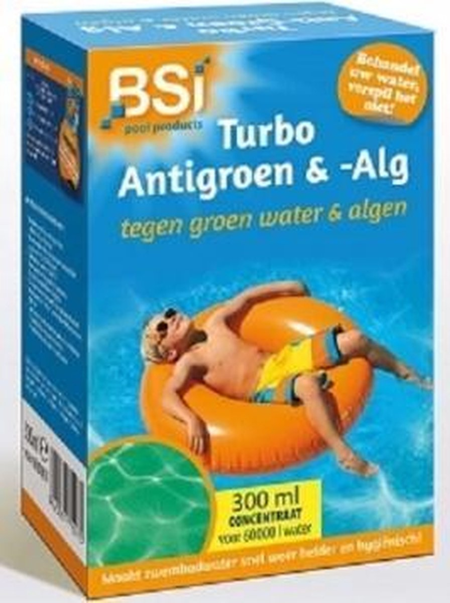 BSI Turbo Anti-Groen 300ml