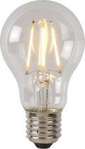 Lucide LED BULB - Filament lamp - Ø 6 cm - LED Dimb. - E27 - 1x5W 2700K - Transparant