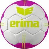 Erima  Handbal- Pure Grip No. 4 - Wit/pink - Unisex - Maat 2
