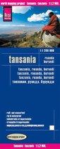 Reise Know-How Landkarte Tansania, Ruanda, Burundi (1:1.200.000)