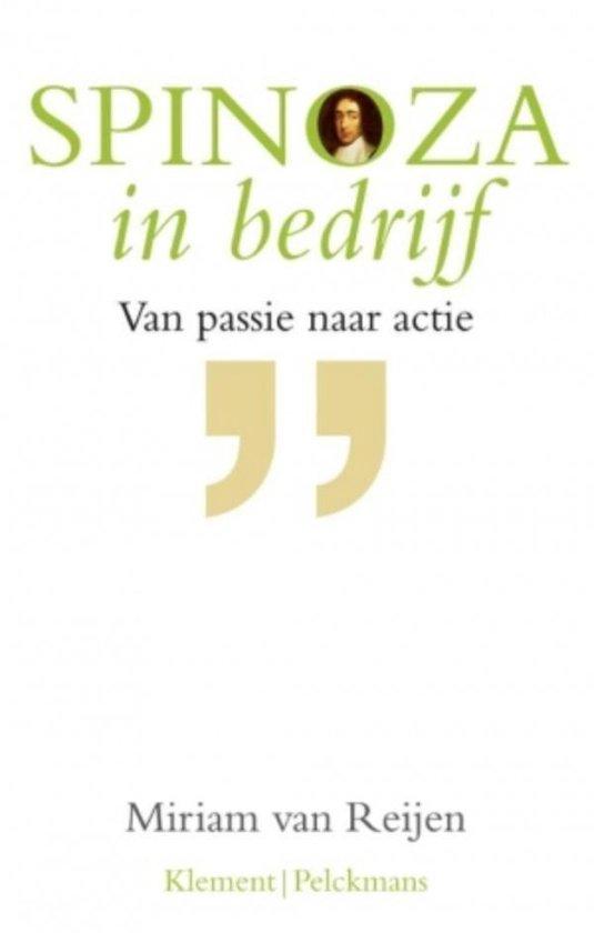Spinoza in bedrijf - Miriam van Reijen | Fthsonline.com