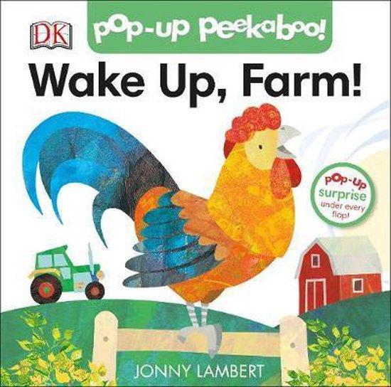 Boek cover Jonny Lamberts Wake Up, Farm! (Pop-Up Peekaboo) van Jonny Lambert (Hardcover)