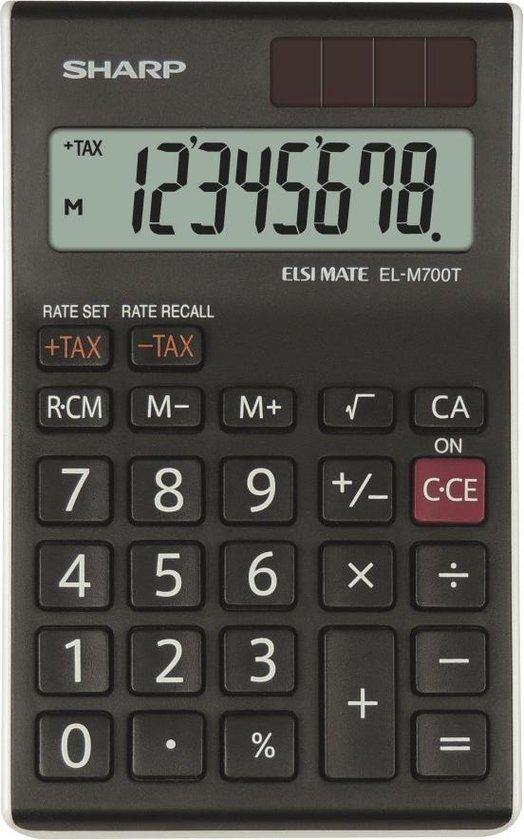 Sharp ELM700TWH - Rekenmachine