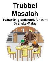 Svenska-Malay Trubbel/Masalah Tv spr kig bilderbok f r barn