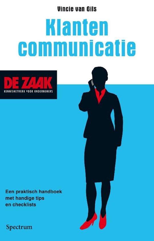 Cover van het boek 'Klantencommunicatie'