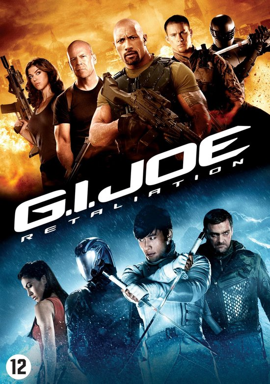 Cover van de film 'G.I. Joe 2: Retaliation'