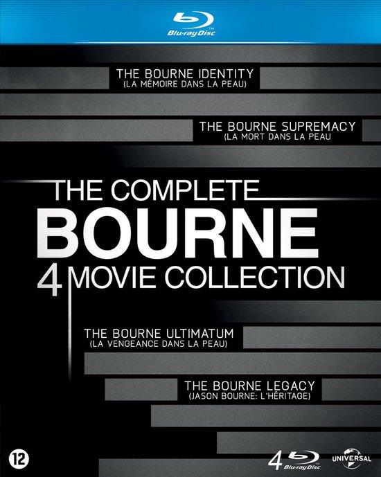 Cover van de film 'The Bourne Collection 1 t/m 4'
