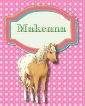 Handwriting and Illustration Story Paper 120 Pages Makenna