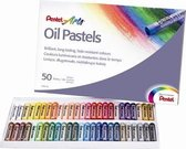 Pentel Arts Olie pastel set � 50 stuks