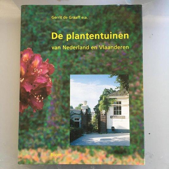 de PLANTENTUINEN van NEDERLAND EN VLAANDEREN - Gerrit de Graaff pdf epub