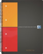 Oxford International Notebook A4+ 5mm ruit 80pagina's - Scribzee compatibel