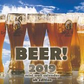 Beer! 2019 Mini Wall Calendar (UK Edition)
