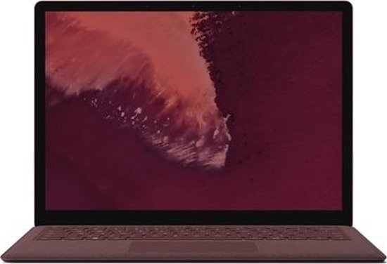 Microsoft Surface Laptop 2 Bordeaux rood Notebook 34,3 cm (13.5'') 2256 x 1504 Pixels Touchscreen Intel® 8ste generatie Core™ i7 16 GB 512 GB SSD Windows 10 Pro