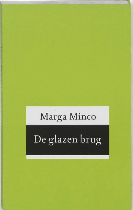 Boek cover De glazen brug van M. Minco (Paperback)