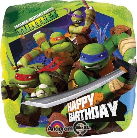 Aluminium ballon Ninja Turtles™ - Feestdecoratievoorwerp