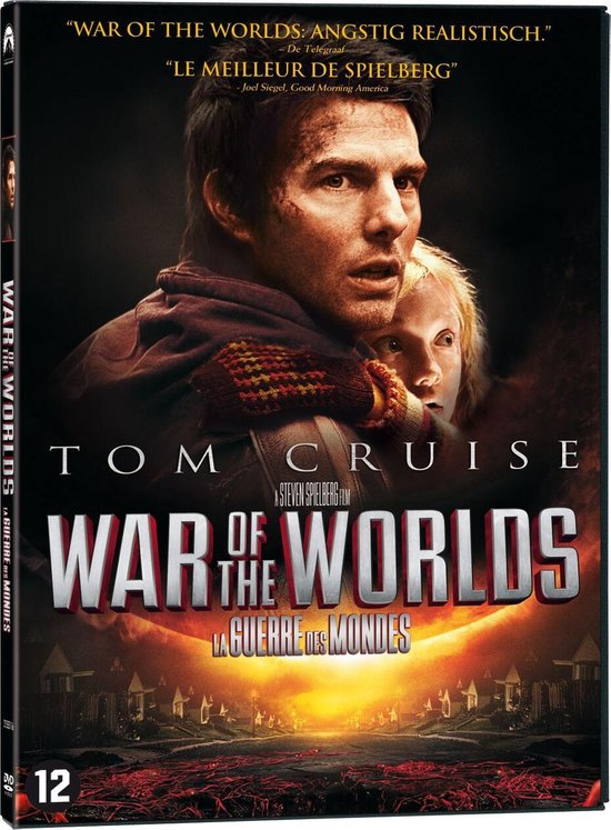 Cover van de film 'War Of The Worlds'