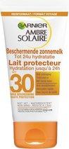 Garnier Ambre Solaire Zonnebrandcrème SPF 30 - 50 ml - Hydraterend - Reisformaat