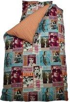 BINK Bedding Fashion - Dekbedovertrek - Eenpersoons - 140x200/220 cm + 1 kussensloop 60x70 cm - Multi