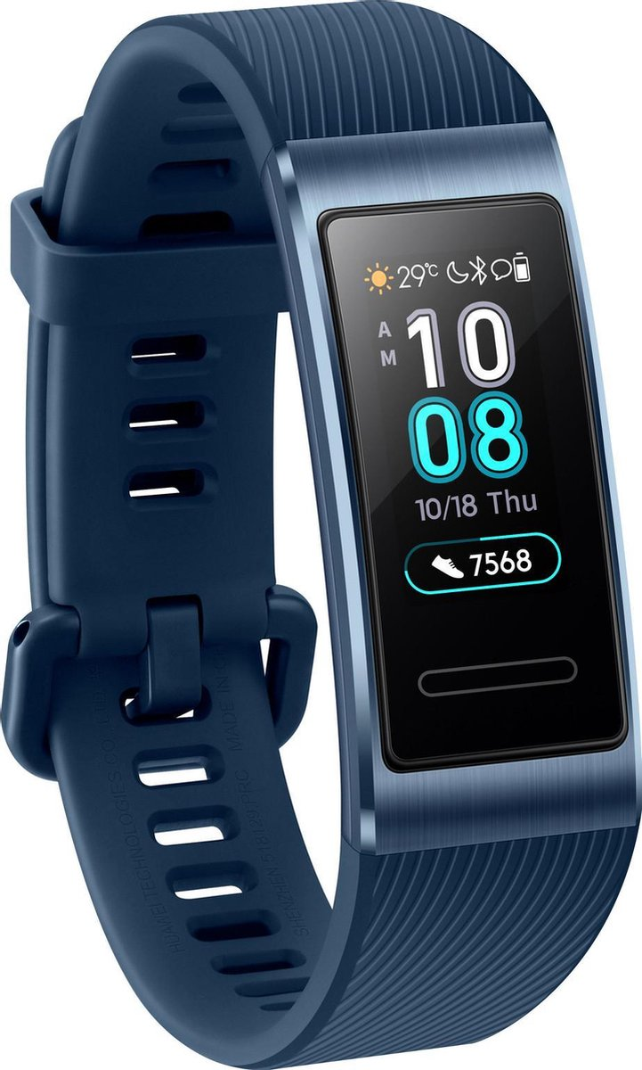Huawei Band 3 Pro - Activity tracker - Blauw - Huawei