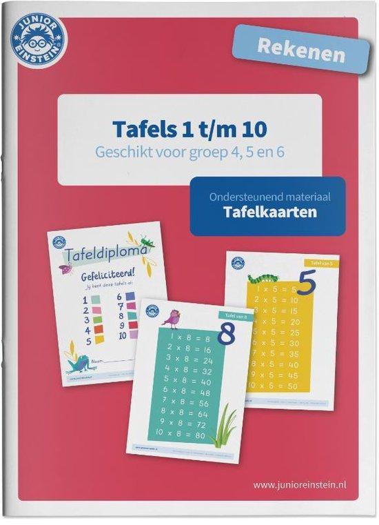 Rekenen Tafels 1 t/m 10 Tafelkaarten - none |