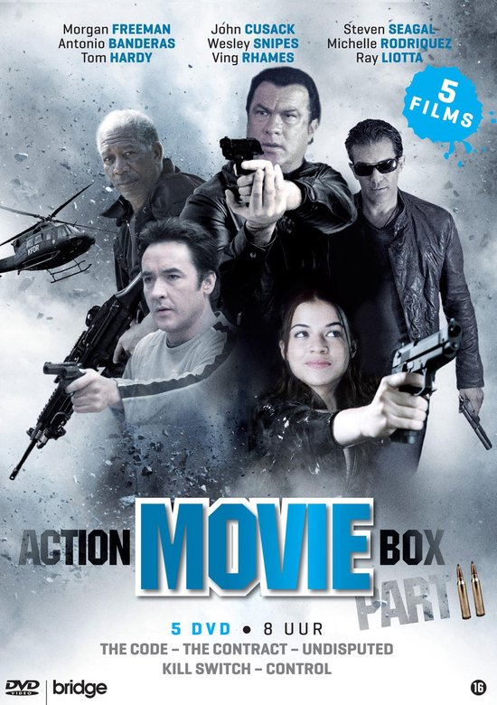 Cover van de film 'Action Movie Box 2'