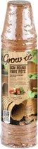 Grow-it Ronde Vezel Pot 6cm - 24st
