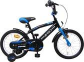 Amigo BMX Fun - Kinderfiets 16 inch - Jongens - Zwart/Blauw