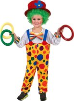 """""""Kleurrijk clown kostuum voor kinderen - Kinderkostuums - 134/146"""""""