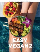 Boek cover Easy Vegan van Living The Green Life