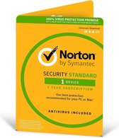 Norton Security Standard 3.0 - Engels / 1 Apparaat