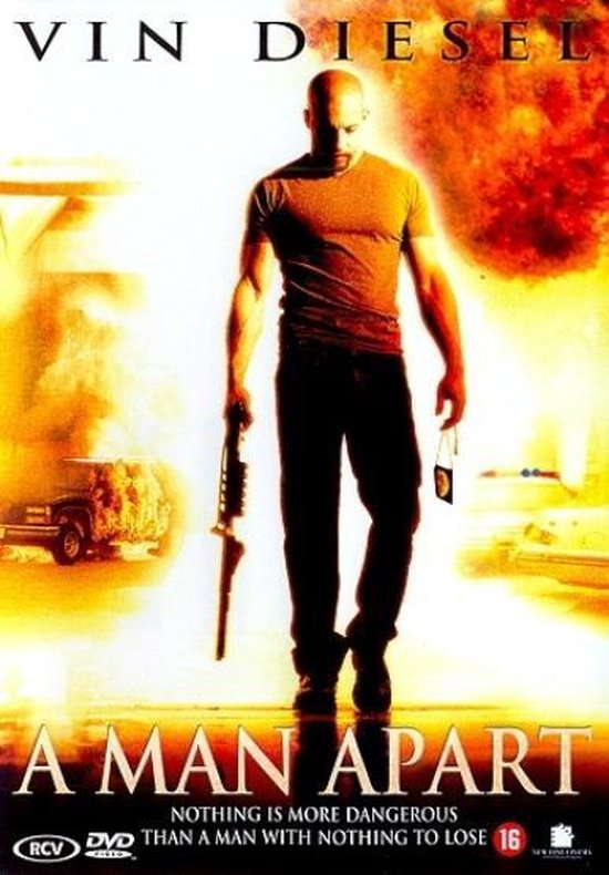 Cover van de film 'A Man Apart'