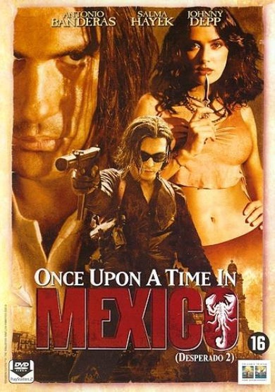 Cover van de film 'Once Upon A Time In Mexico'