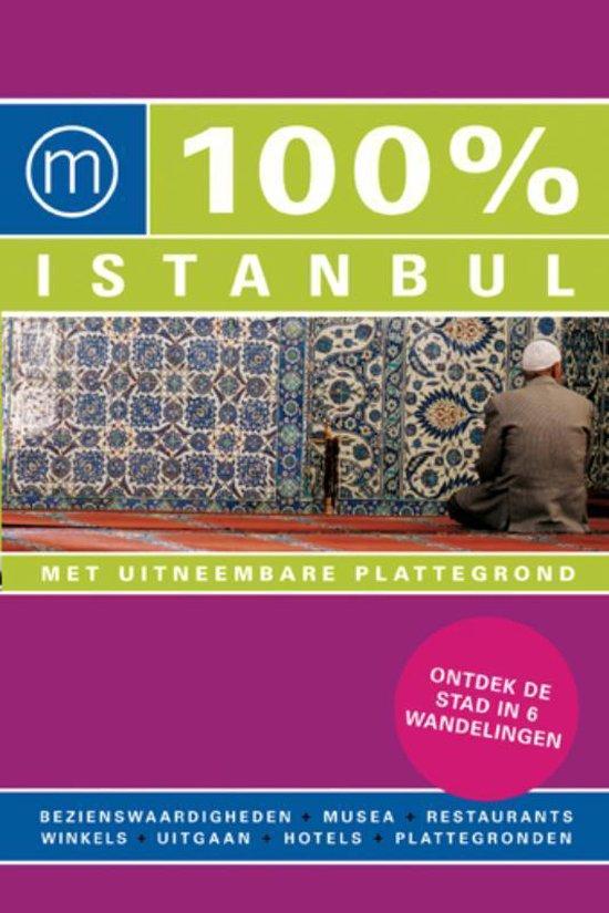 Cover van het boek '100% Istanbul' van Dirk Vermeiren