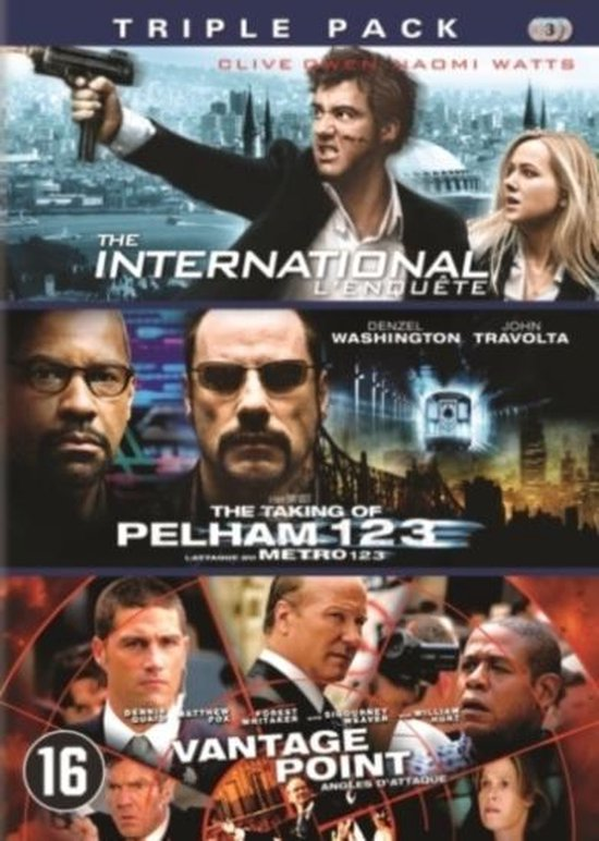 The International/The Taking Of Pelham 123/Vantage Point